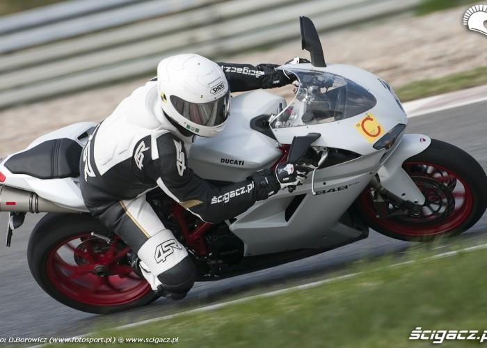 przyspieszenie 848 evo ducati test 2011 poznan a2 30