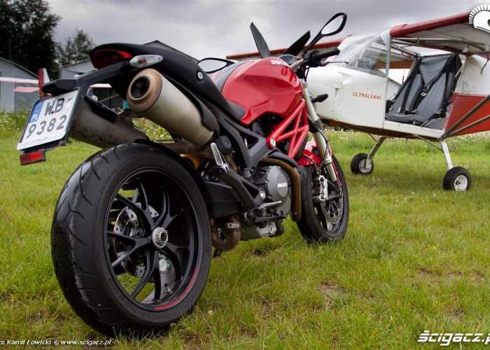Sky Ranger wydechy Ducati Monster