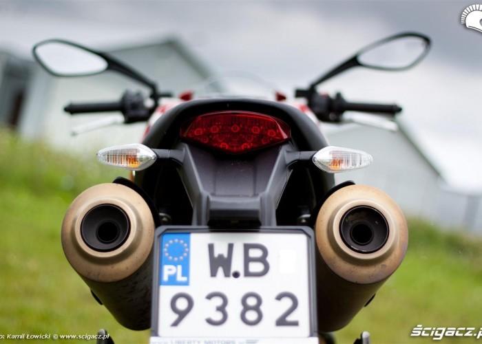 odtylu Ducati Monster
