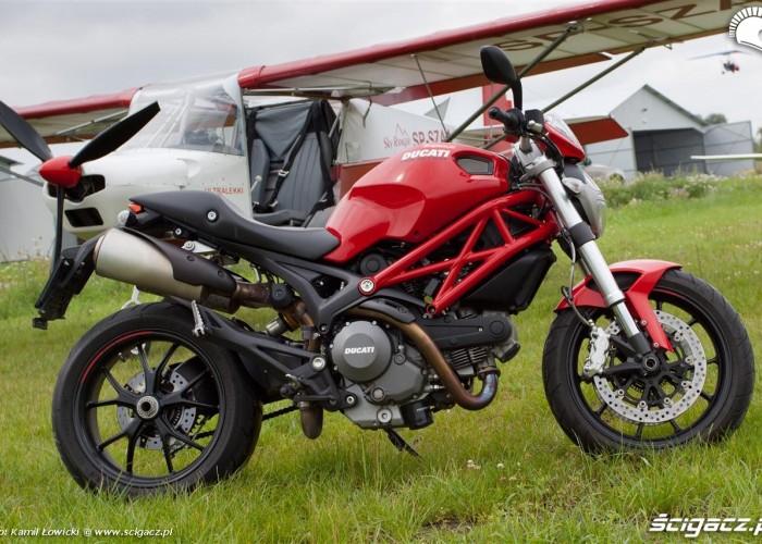 profil boczny Ducati Monster Sky Ranger