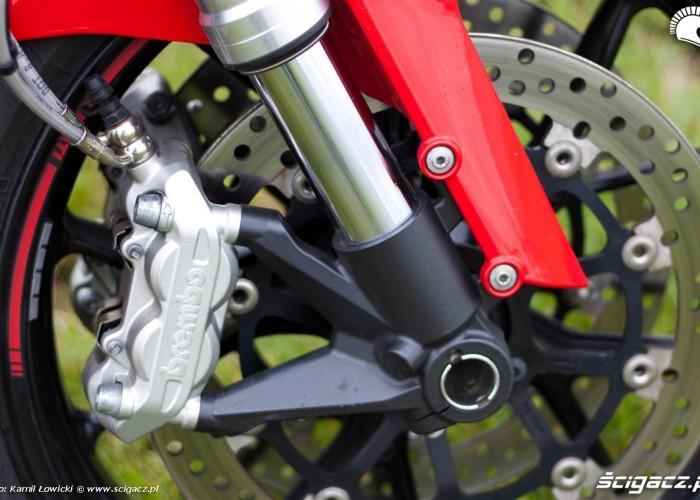 przedni zacisk Ducati Monster