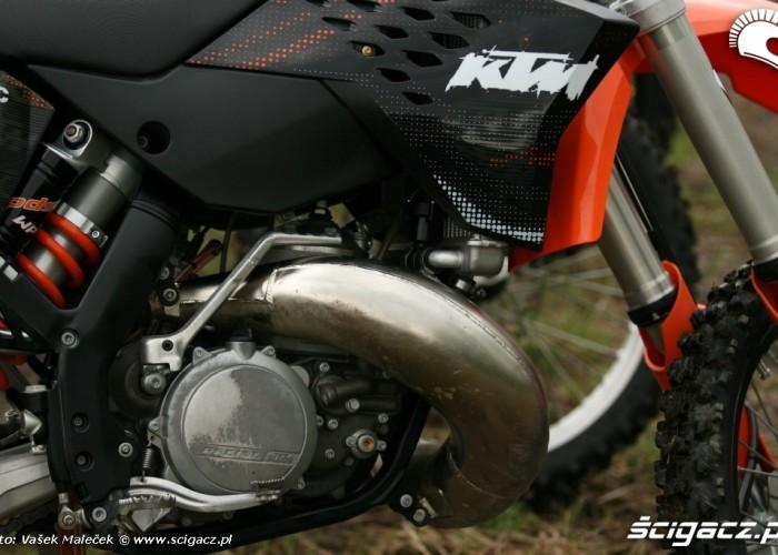 KTM 300EXC E dyfuzor