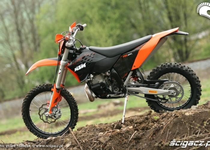 KTM 300EXC E lewy bok