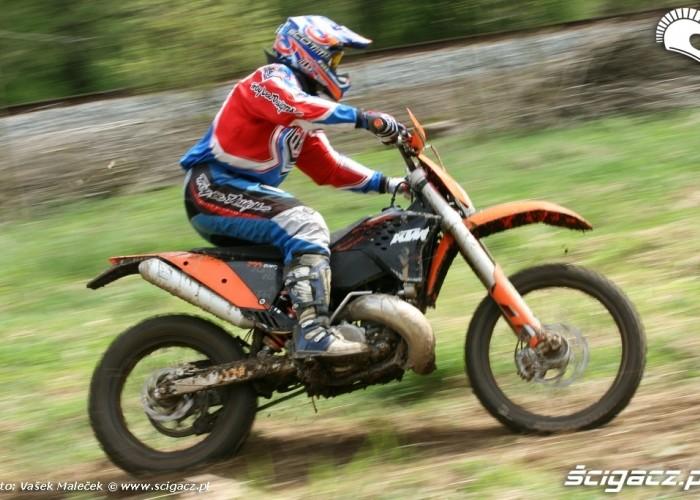 KTM 300EXC E zawodnik