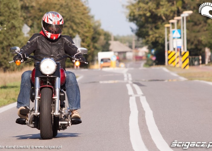 droga publiczna Harley Davidson Softail Slim