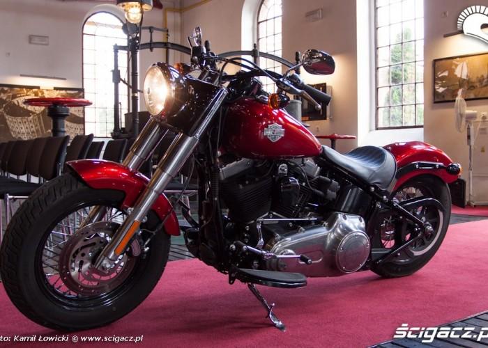 gazownia Harley Davidson Softail Slim