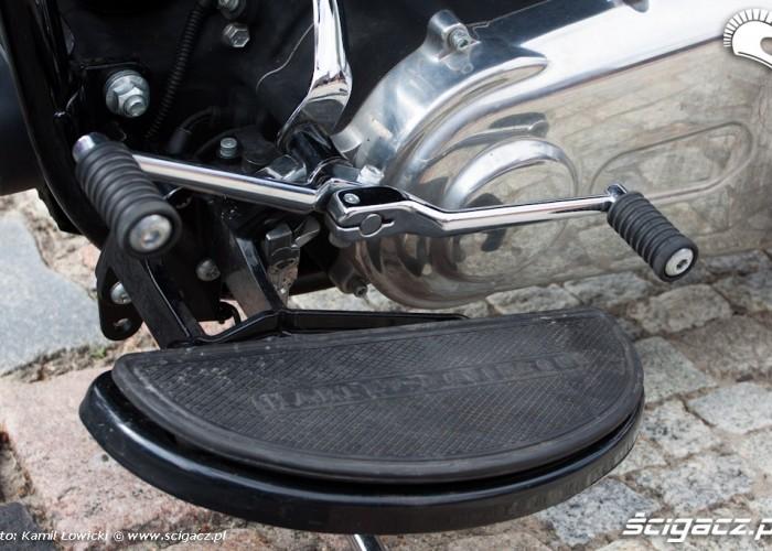 gdzwignia zamiany biegow Harley Davidson Softail Slim