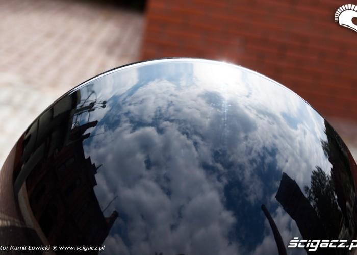 lampa odbicie Harley Davidson Softail Slim