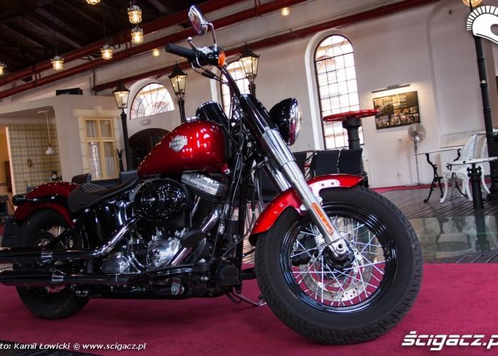 muzeum Harley Davidson Softail Slim