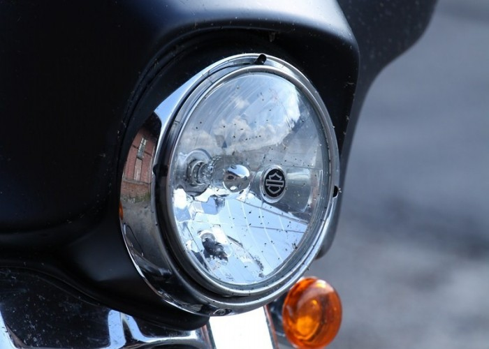 przednia lampa