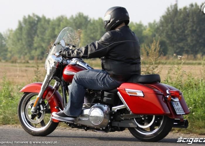 odjazd Harley