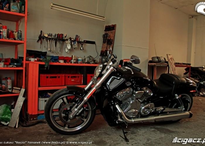 garage inc Harley Davidson V Rod Muscle