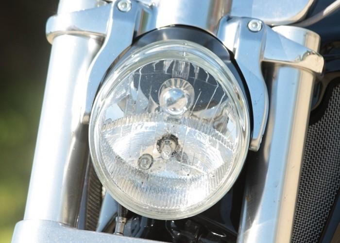 przod polerka Harley Davidson V Rod Muscle