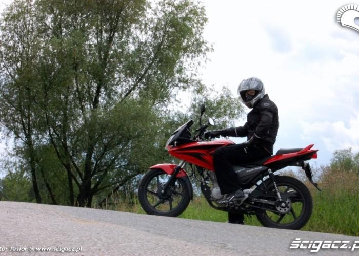 Honda CBF125 przerwa