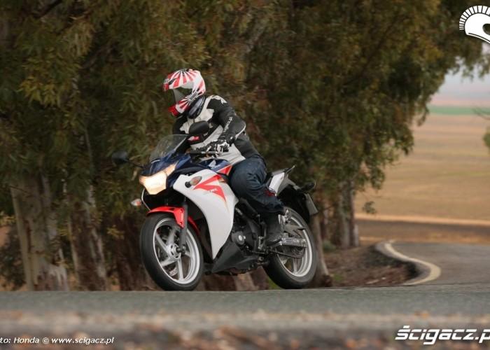 Honda CBR250R 2011 akcja