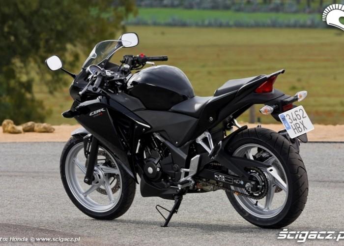Honda CBR250R 2011 czarna