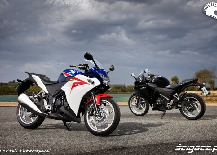 Honda CBR250R 2011 rozne malowania