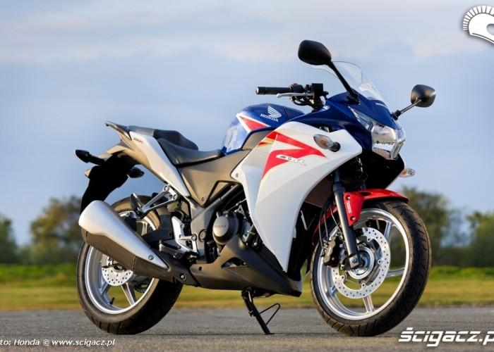 prawy profil Honda CBR250R 2011