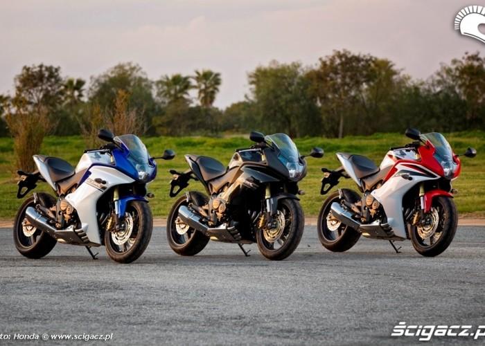 Kolorystyka Honda CBR600F