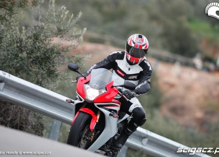 Serpentyny Honda CBR600F 2011
