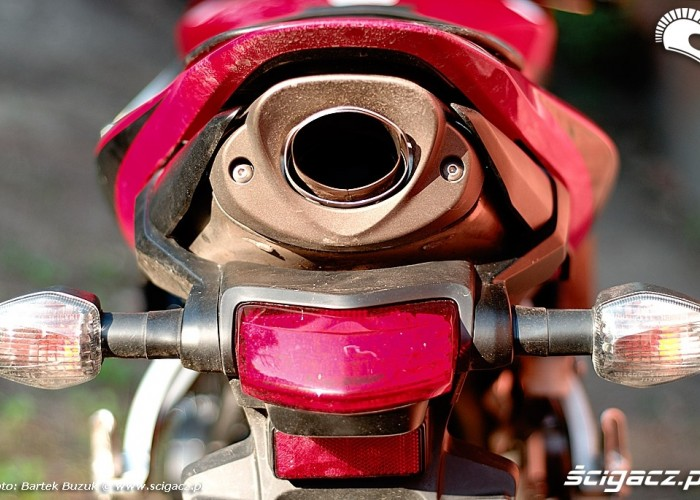 Honda CBR600RR wydech