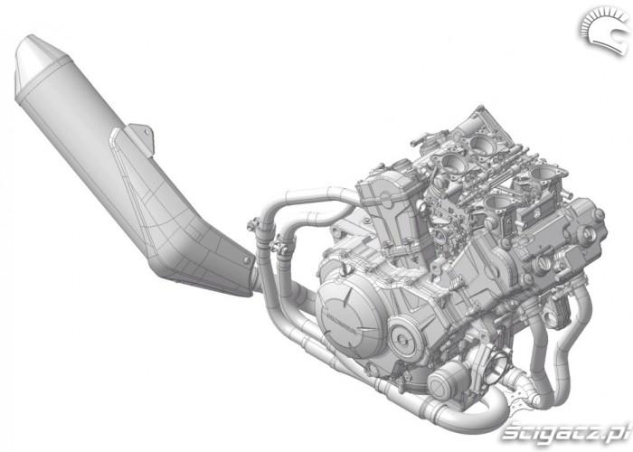 DOHC V4 Engine