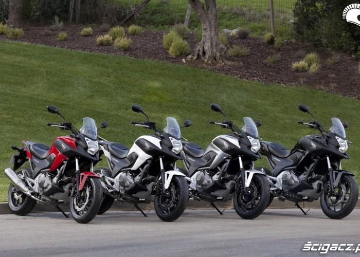 Kolory Honda NC700X YM 2012