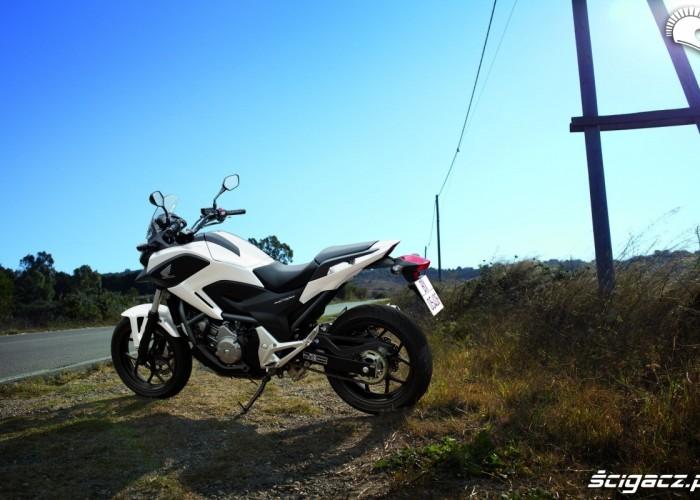Na trasie Honda NC700X YM 2012