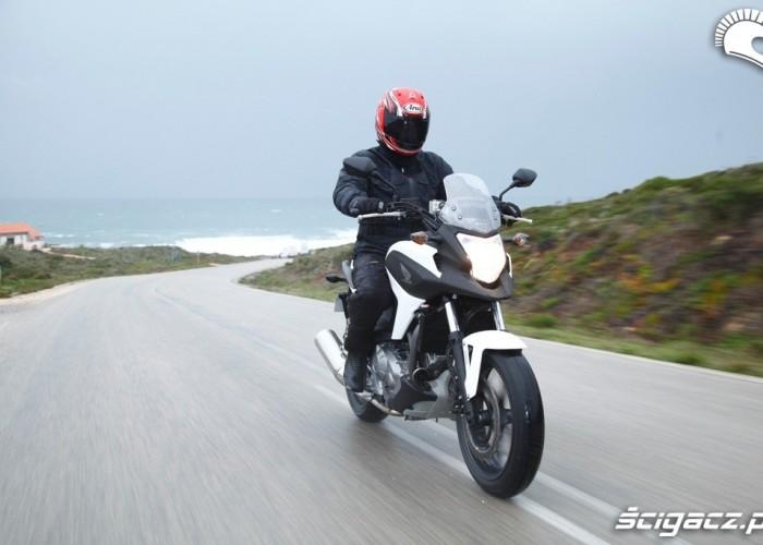Nad morzem Honda NC700X