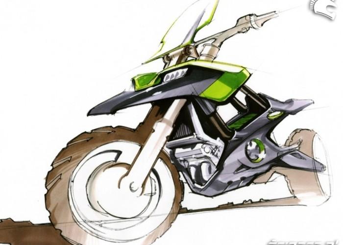 Szkice Honda NC700X