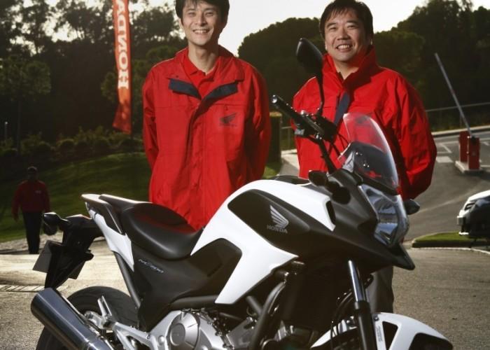 To oni zbudowali NC700X - Soya Uchida i Takanori Osuka