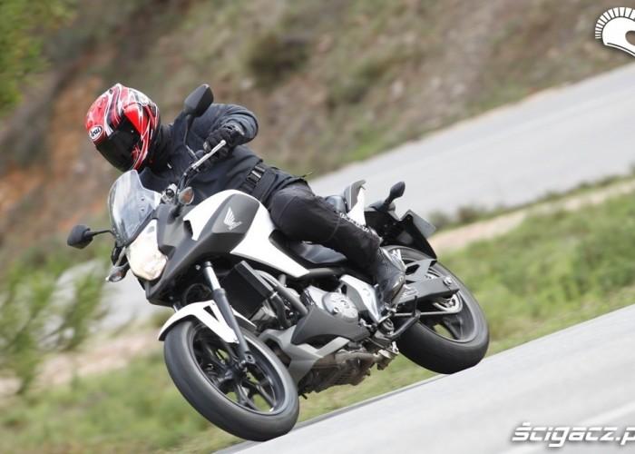 W gorach Honda NC700X 2012