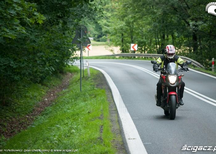 Honda NC700X na drodze
