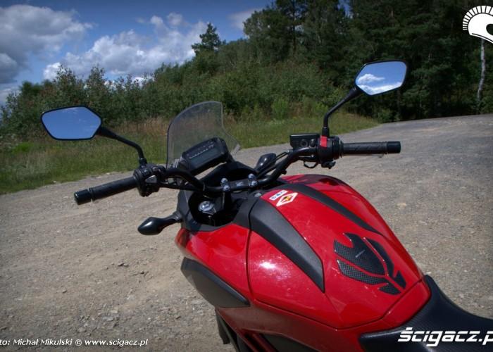 Honda NC 700X za sterami