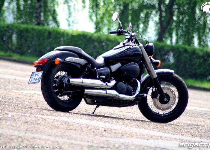 Honda Shadow Black Spirit prawy tyl