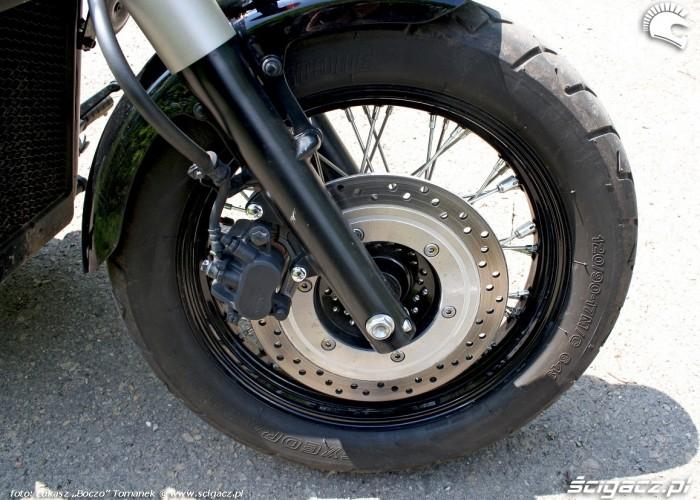 Honda Shadow Black Spirit przednie kolo