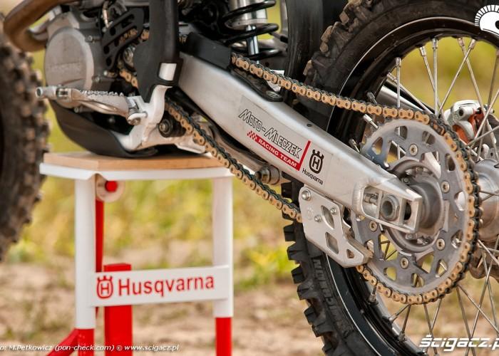 husqvarna tc250 zawieszenie lancuch