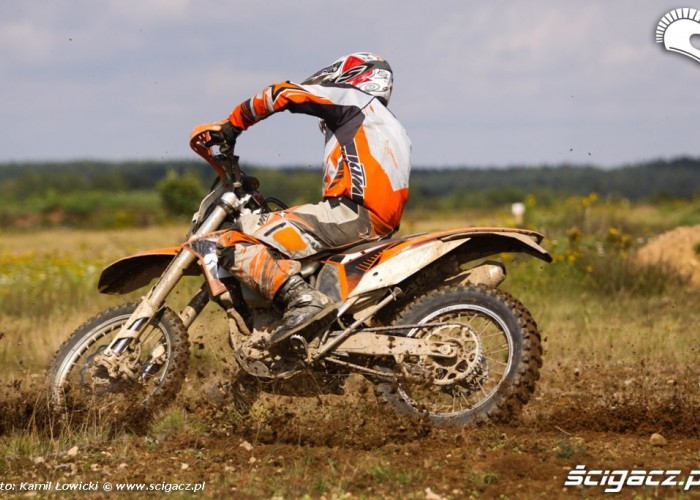 KTM EXC-350 w Akcji