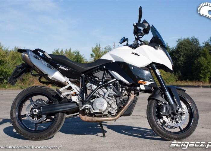 Prawa strona KTM SMT 2011
