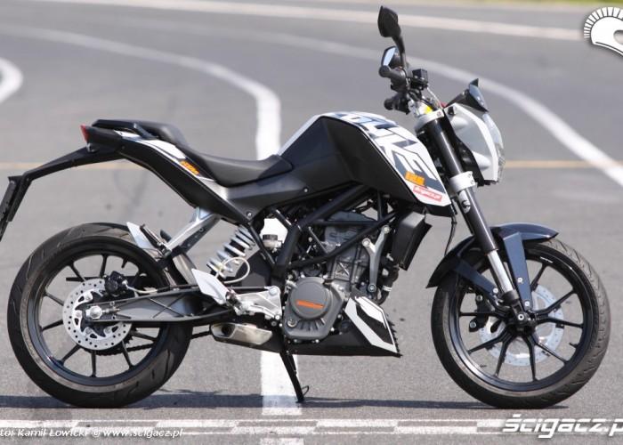 KTM Duke 125 prosta startowa scigacz pl