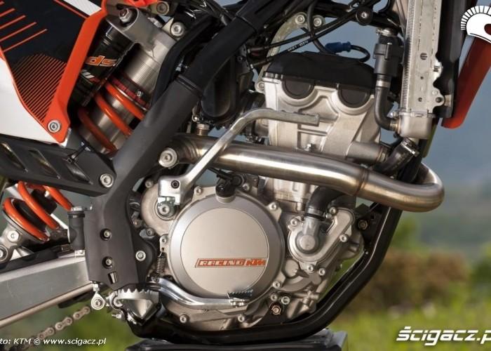 Czterosuw ktm exc-f 350 2012 silnik