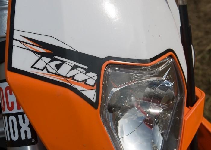 lampa ktm exc 200 2010