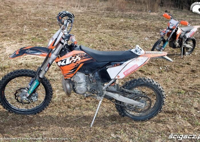 ktm exc 450 i 250 2010