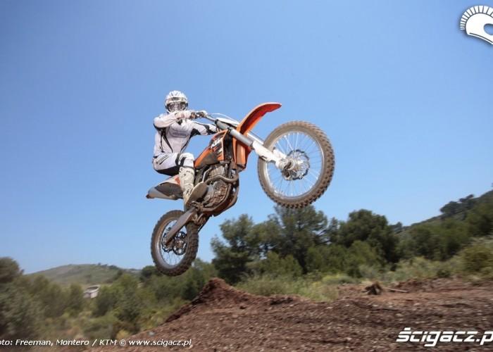 ktm sxF 350 2011 skoki