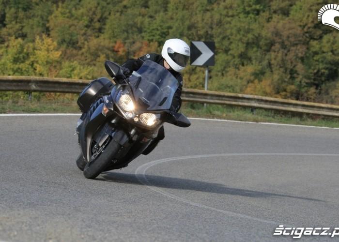 Kawasaki 1400 GTR 2010 gory