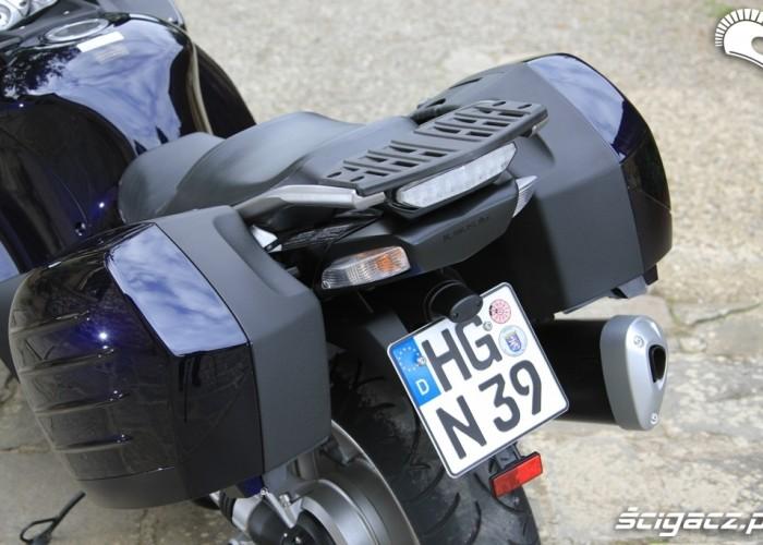 Kawasaki 1400 GTR 2010 kuferki bagaznik