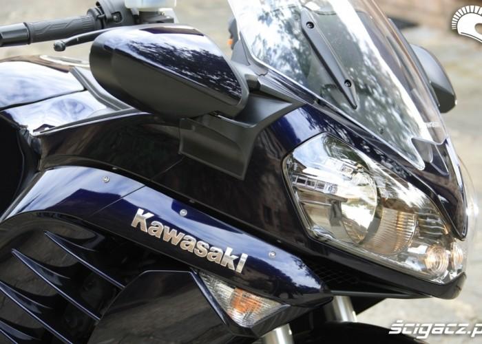 Kawasaki 1400 GTR 2010 lampy