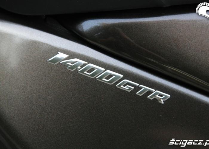 Kawasaki 1400 GTR 2010 logo