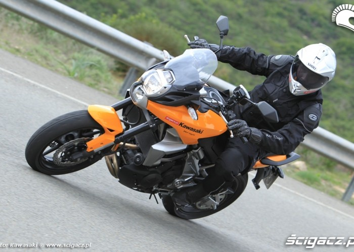 Kawasaki Versys 2010 jazda