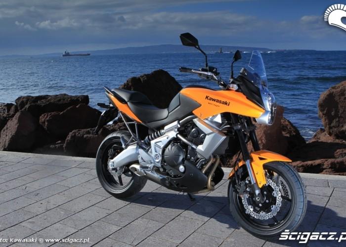 Kawasaki Versys 2010 prawy bok